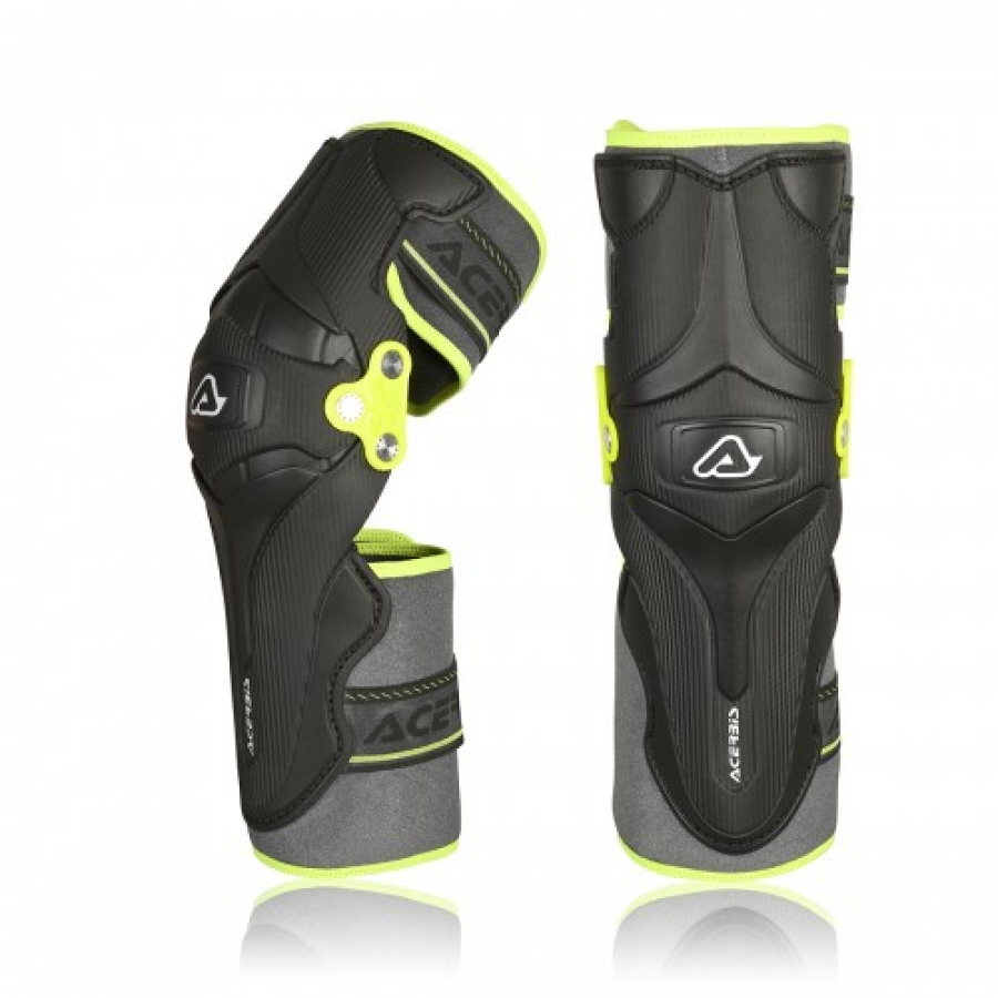 НАКОЛЕННИКИ X-STRONG KNEE GUARD BLACK YELLOW